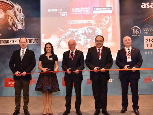 Uluslararası Asansör İstanbul Fuarı başarı ile tamamlandı