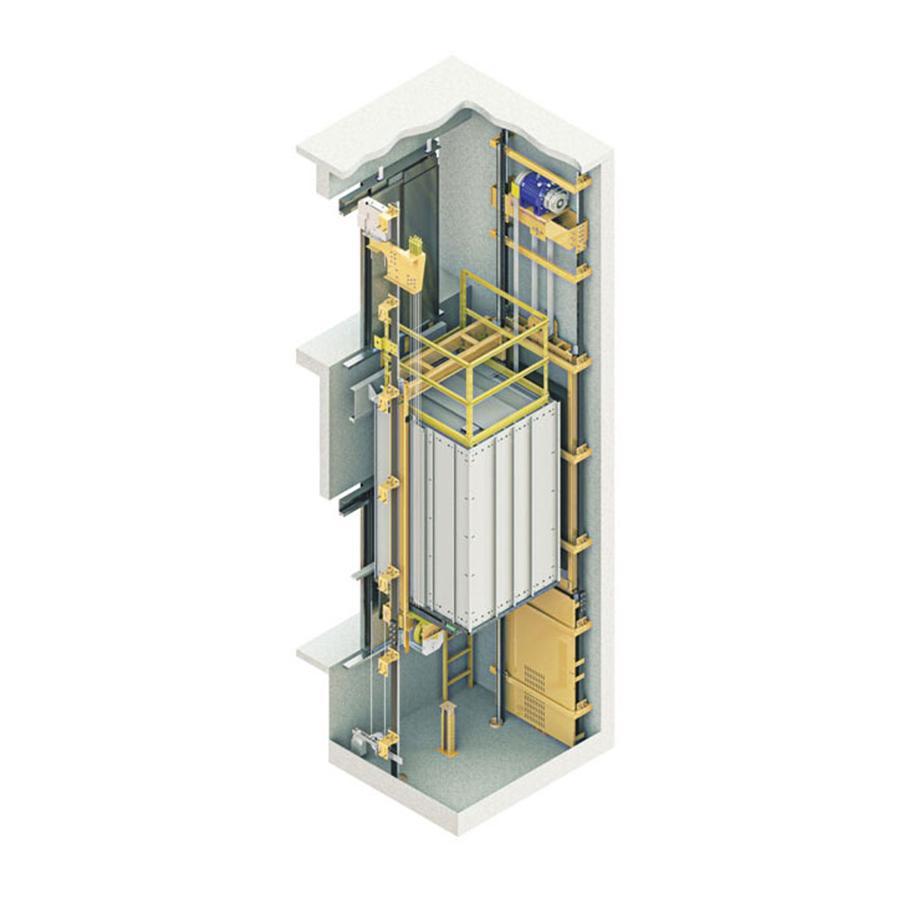 Yeterlift Mrl lift Asansör Sistemi